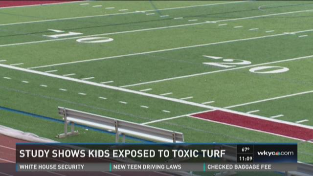 Investigator | New study shows kids exposed to toxic chemicals on artificial turf