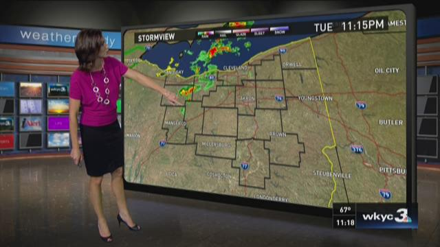 11 p.m. weather forecast for June 30, 2015