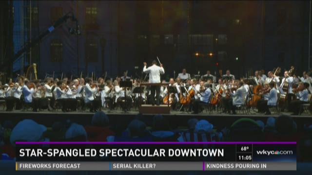 Cleveland Orchestra holds Star-Spangled Spectacular
