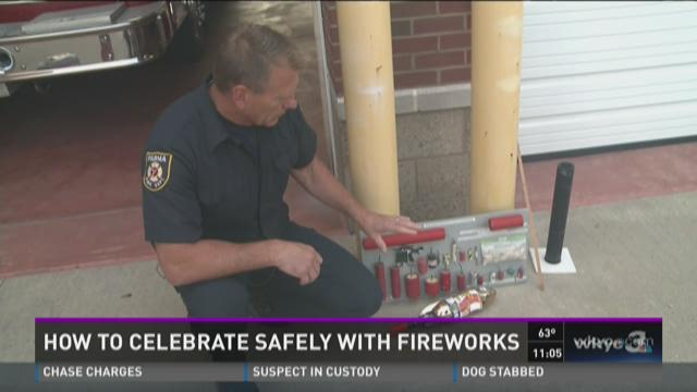 Fireworks safety a priority as July 4 approaches