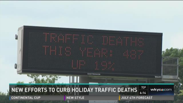 Highway message boards signal saftey