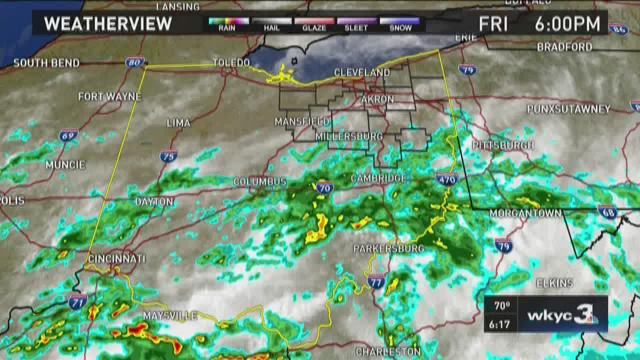 6 p.m. weather forecast for July 3, 2015