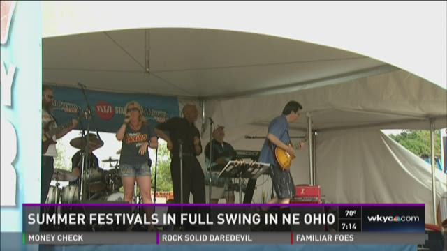 Check out the NE Ohio summer festivals