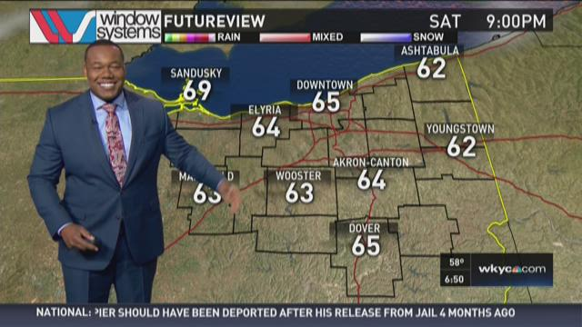Morning weather forecast for July 4, 2015
