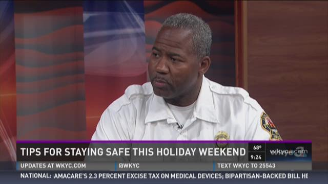 Tips for staying safe this holiday weekend