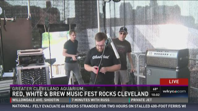Red, White and Brew Music Fest rocks Cleveland