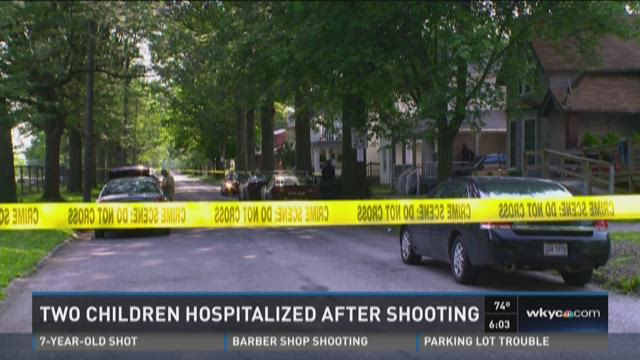 Two Children Hospitalized After Shooting