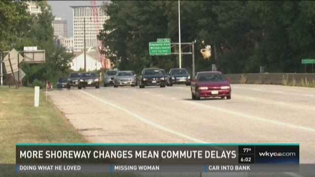 More Shoreway changes mean commute delays