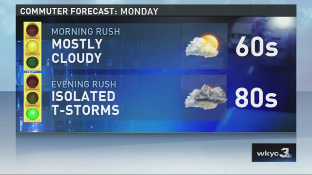 11 p.m. weather forecast for July 5, 2015