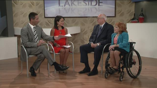 Mary Verdi-Fletcher & Craig Campbell- Best of Accessible Cleveland Luncheon 7/6/15