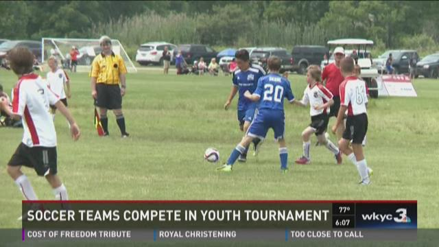 Youth soccer teams compete in Continental Cup tournament
