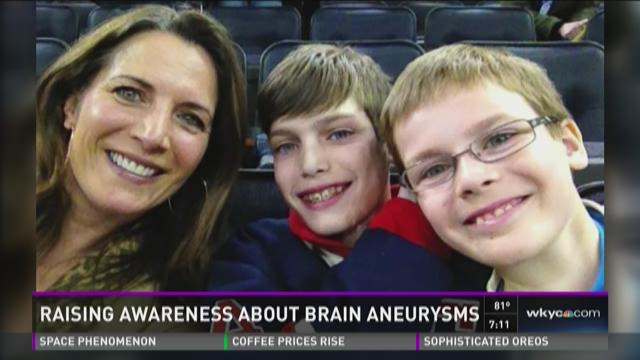 Raising awareness about brain aneurysms