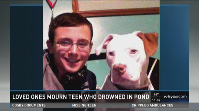 Loved ones mourn teen who drowned in pond