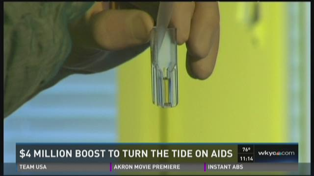 $4 million boost to turn the tide on AIDS in Cuyahoga County