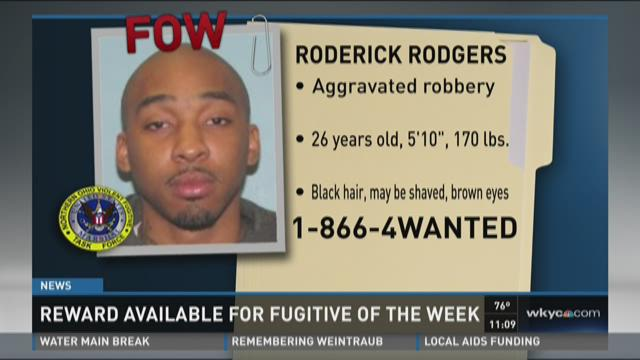 Fugitive wanted for robbery of new shoes, money, cell phone