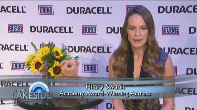 Duracell & Hilary Swank – Honoring Children of Military Parents 7/7/15