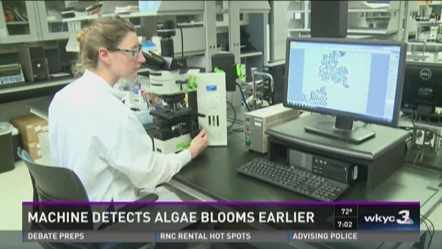 Machine detects algae blooms earlier