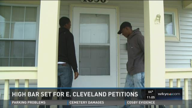 Challenges for East Cleveland annexation study petition