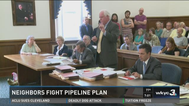 NEXUS Pipeline battle gets heated; goes before judge