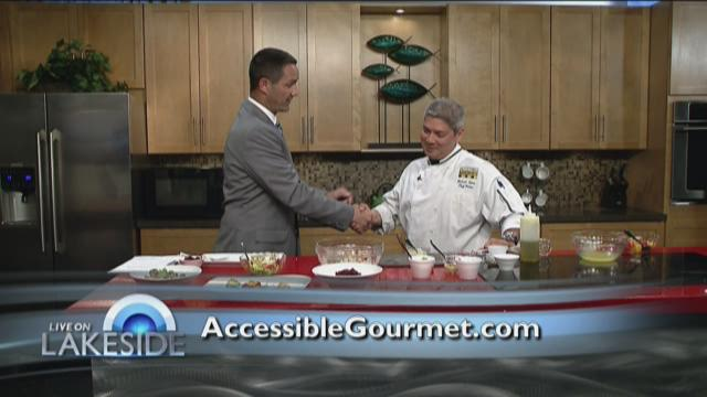 Michael Lyons- Accessible Gourmet's Summer Salads 7/27/15