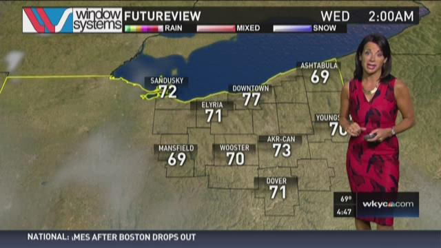 Morning weather forecast for July 28, 2015