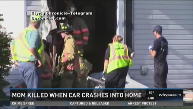 One dead, infant injured after car slams into Amherst home