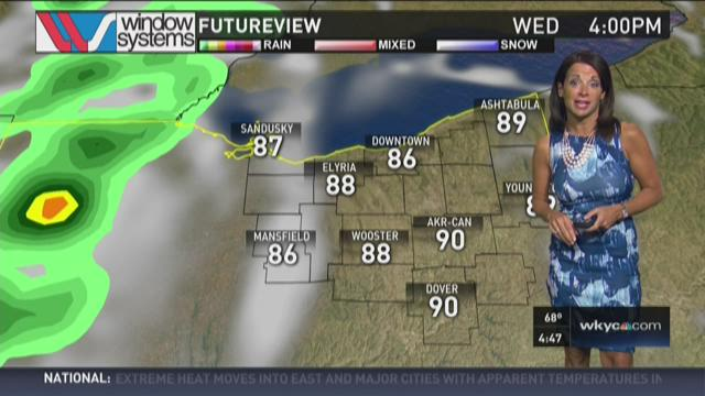 Morning weather forecast for July 29, 2015