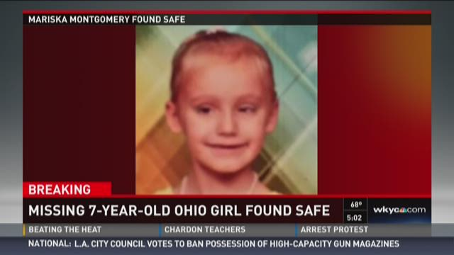 Amber Alert canceled: Child found safe