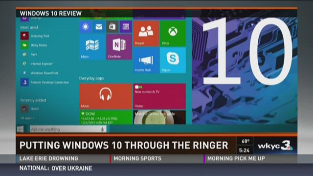 Putting Windows 10 Through the Ringer