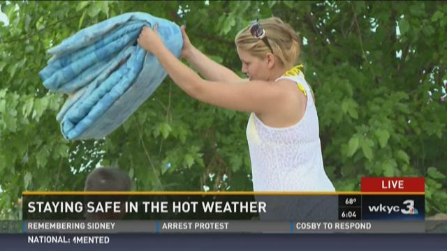 TIPS | Staying safe in hot weather