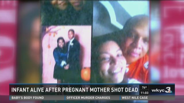 Mom who watched son shoot pregnant girlfriend speaks