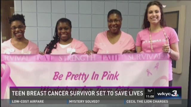 Teen breast cancer survivor set to save lives