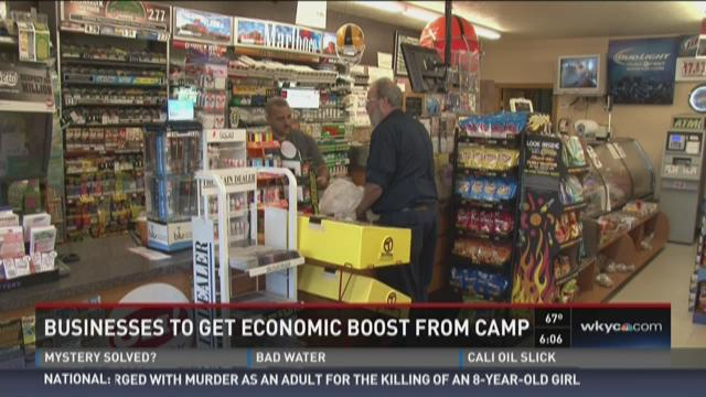 Businesses to get economic boost from Browns camp