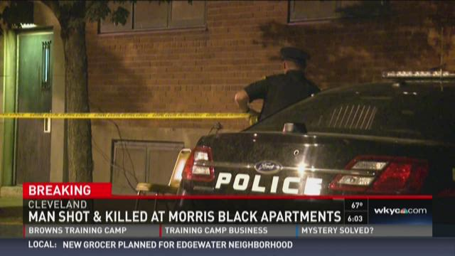 Man shot at east side apartment