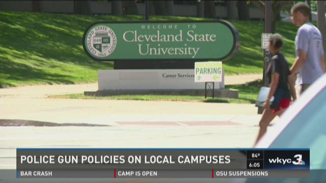 Local campuses weigh in on gun debate