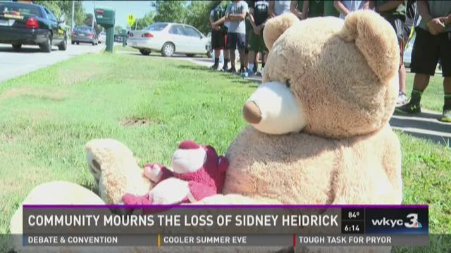 Community mourns the loss of Sidney Heidrick