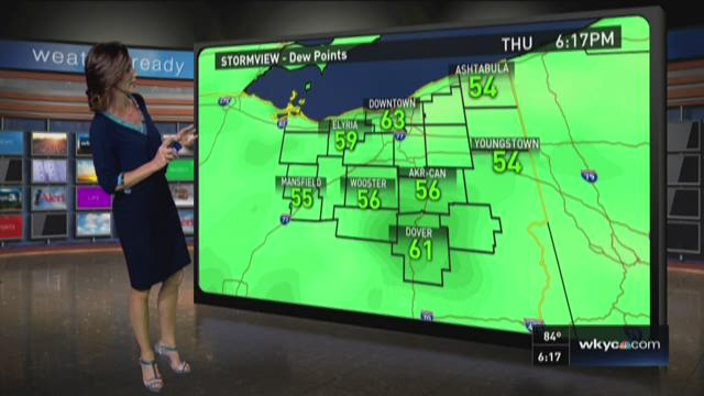 6 p.m. weather forecast for Thursday, July 30, 2015