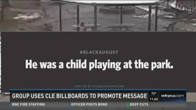 Group uses CLE billboards to promote message