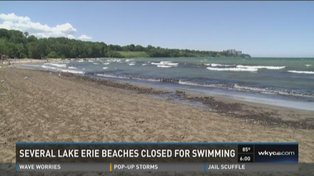 No Swimming: Edgewater, Villa Angela and Mentor Headlands