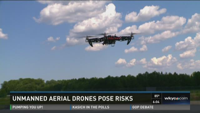 Drones are becoming a 'hot button' topic