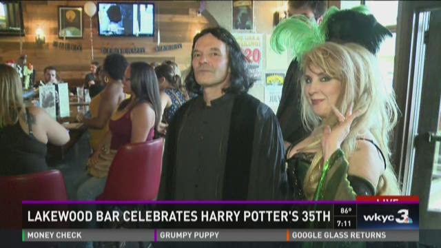 Lakewood bar celebrates Harry Potter's 35th