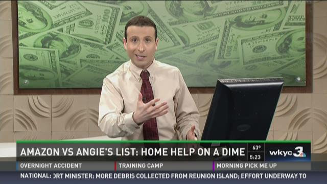 Amazon vs Angie's List: Home Help on a Dime.