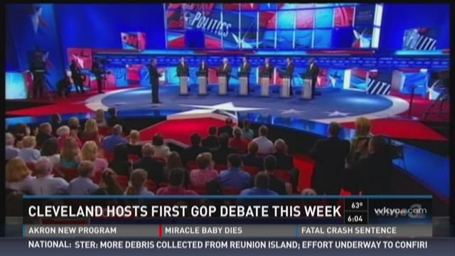 Who will make the GOP Cleveland debate cut?