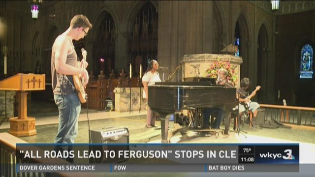 """All roads lead to Ferguson"" stops in CLE"