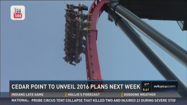 Cedar Point to Unveil 2016 Plans Next Week