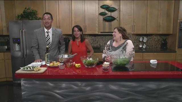 Stefanie Paganini - Spinach Salad with Roasted Lemon Citronette 8/4/15
