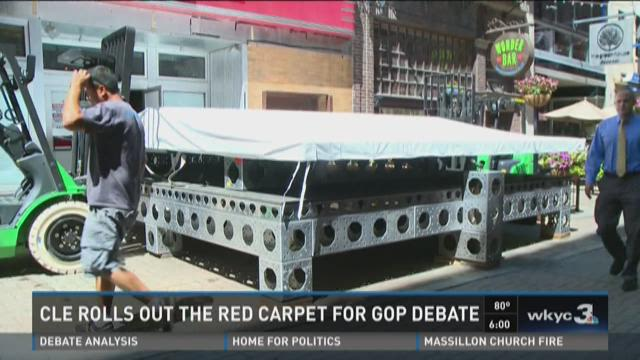 CLE rolls out the red carpet for GOP debate