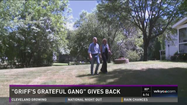 """""""Griff's Grateful Gang"""" gives back"""