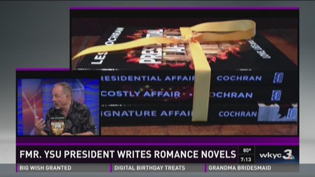 Former YSU president writes romance novels