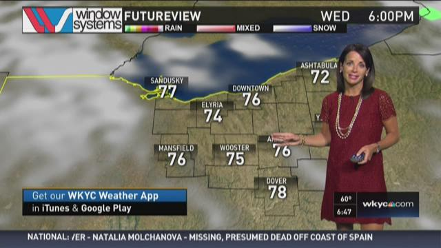 Morning weather forecast for August 5, 2015